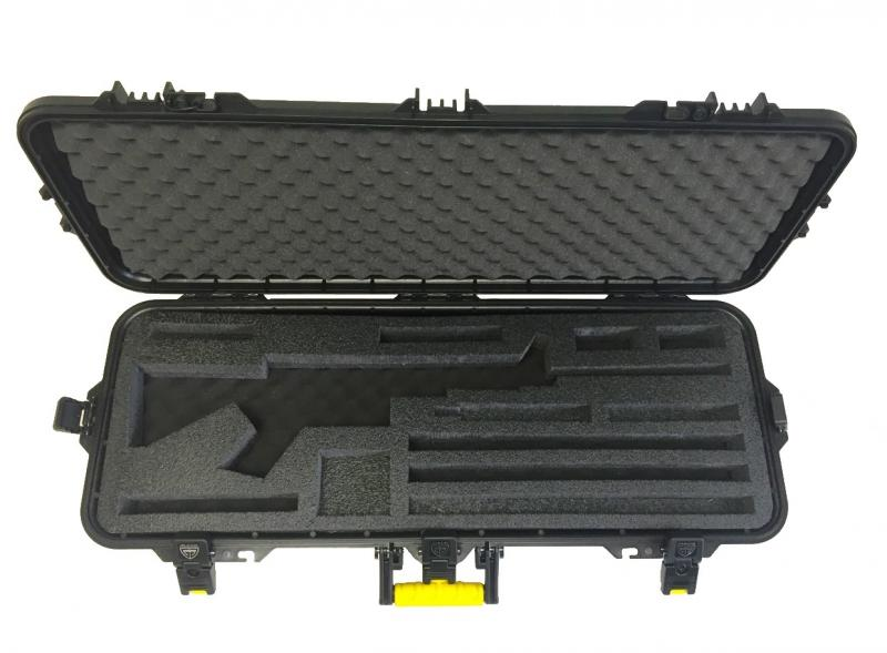 Tactical Case with Custom Cut Insert